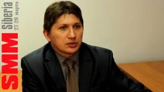 Спикер Андрей Харламов: о себе и о SMM SIBERIA 2013