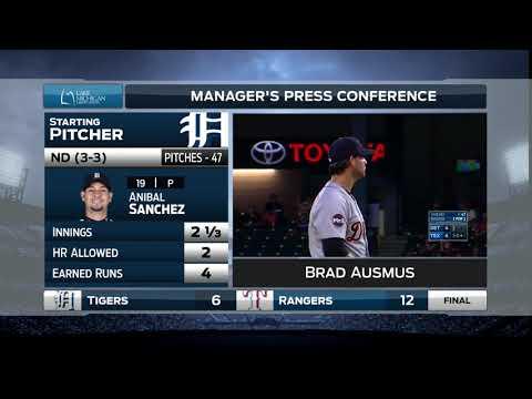 Tigers LIVE Postgame 8.16.17: Brad Ausmus