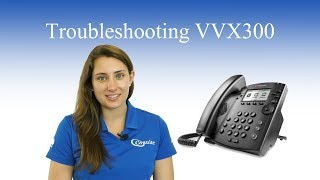 Troubleshooting Polycom VVX300   Phone has no dialtone