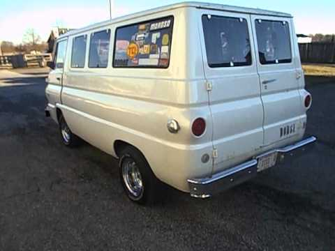 1967 dodge a100 window van v8 at for sale by 500 classic auto youtube. Black Bedroom Furniture Sets. Home Design Ideas