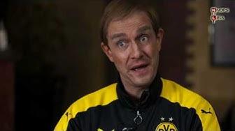 Tuchel lacht über Mats Hummels Frisur!