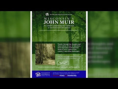 Historical Society interview on John Muir exhibits 1-17-16