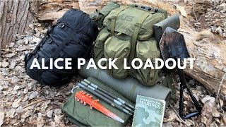 ALICE Pack Loadout