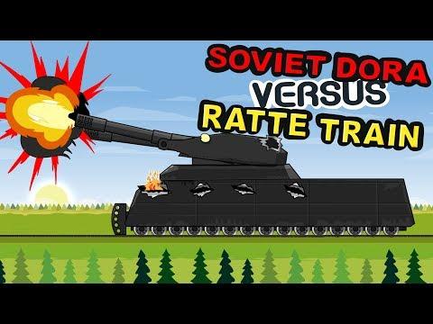 Воины на Рельсах - Мультики про танки