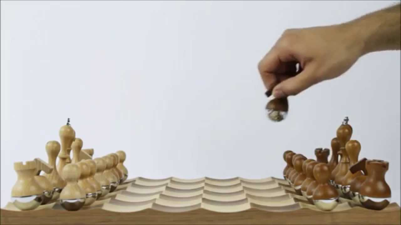 jeu d 39 checs design youtube. Black Bedroom Furniture Sets. Home Design Ideas