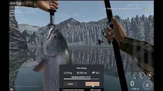 Риболовля планети:(Альберта Лаго білий лось) труту-ду-лагу