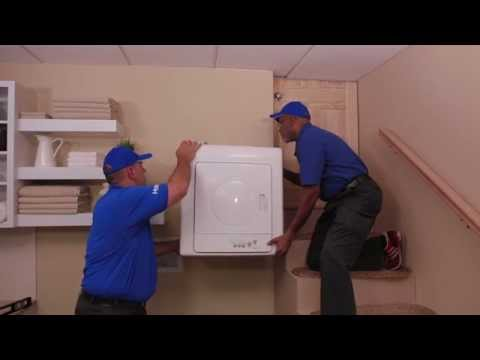 Wall Mounting the Dryer - Haier HLP141E Electric Vented Tumble Dryer