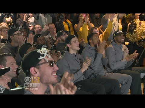 Students Still Celebrating As UMBC Heads To NCAA Basketball Tournament
