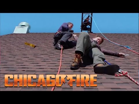 Severide And Vargas Save A Hanging Man | Chicago Fire