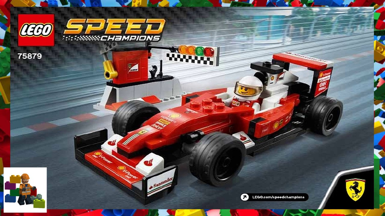 Lego instructions ferrari ™ 8673 ferrari f1 fuel stop youtube.