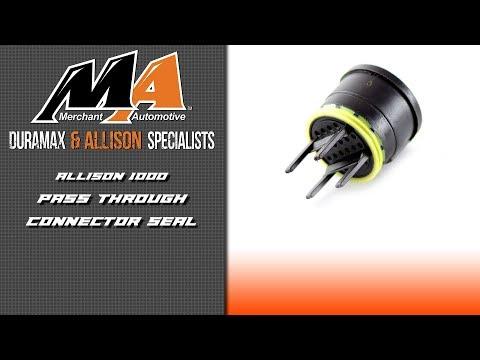 Product Spotlight Allison Pass Through Connector Seal YouTube