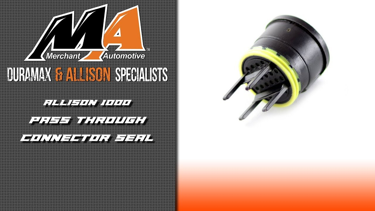 allison transmission wiring harness product spotlight allison pass through connector seal youtube  allison pass through connector seal
