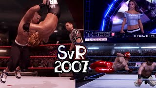 Playing Smackdown Vs  Raw 2007…