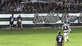 SK Sturm: Setzung der Gründungstafel & Legendentag