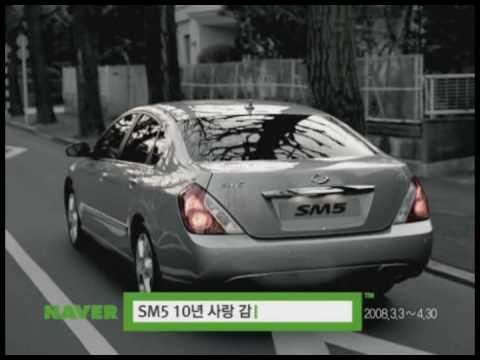 renault samsung sm5 2008 года