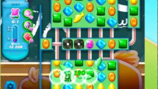Candy Crush Soda Saga Level 1297 - NO BOOSTERS **