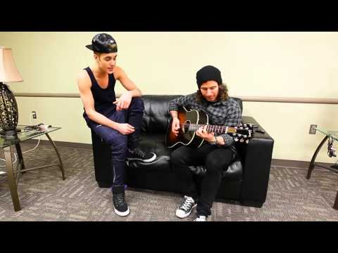 Justin Bieber - TAKE YOU (Acoustic Version) Music Video - Album Believe Acoustic