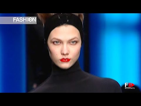KARL LAGERFELD Women's Fall 2011 Paris - Fashion Channel