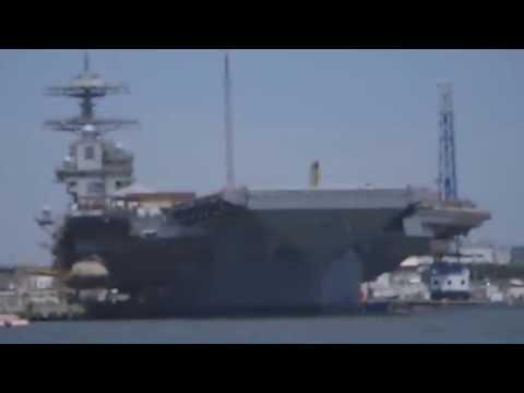 EMALS Tested aboard PCU Gerald R. Ford (CVN 78)