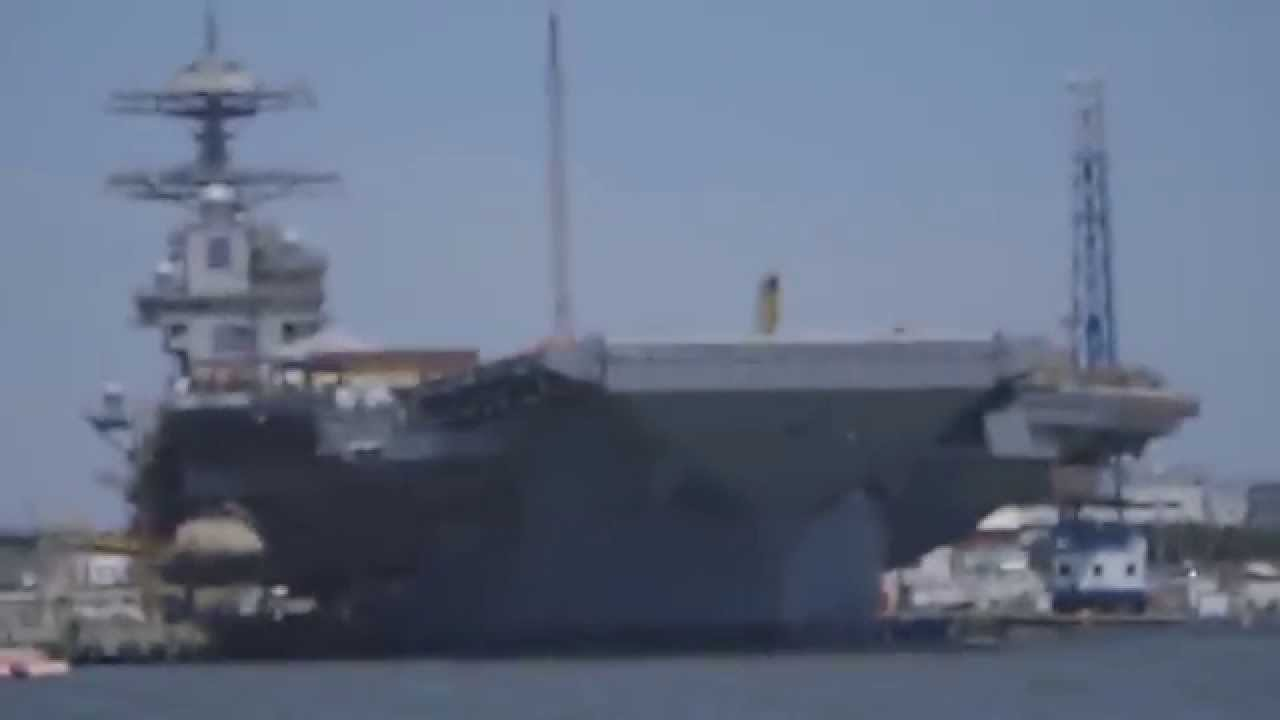 Emals Tested Aboard Pcu Gerald R Ford Cvn 78 Youtube