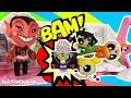 POWERPUFF GIRLS Cartoon Network Mojo JoJo Battles Buttercup, Blossom and Bubbles Powerpuff Girls