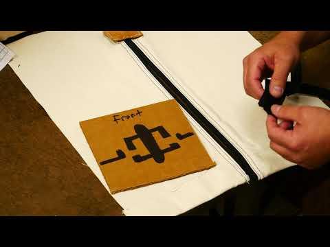 Davis Tent How To Replace a Zipper Slider