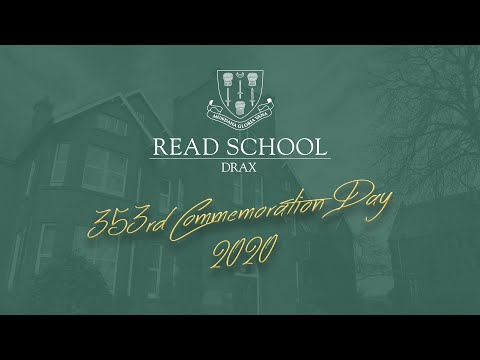 Read School, Drax - Commemoration Day Service 2020