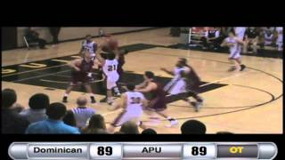 Video Dominican Men's Basketball overtime buzzer beater vs. Azusa Pacific - Dec. 5, 2013 download MP3, 3GP, MP4, WEBM, AVI, FLV Agustus 2018