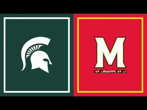 First Half Highlights: Maryland at Michigan State | Big Ten Basketball