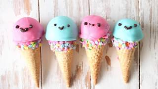 Kawaii Ice Cream Cones