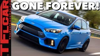 You Won't Believe How Many Good Cars Were Axed This Year!