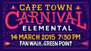 The Unveiling Of Cape Town Carnival's 2015 Theme