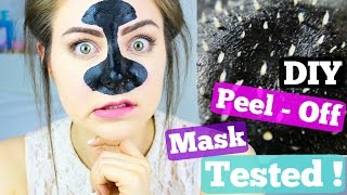 One of Jazzybum's most viewed videos: DIY Blackhead Remover Peel Off Mask Tested !