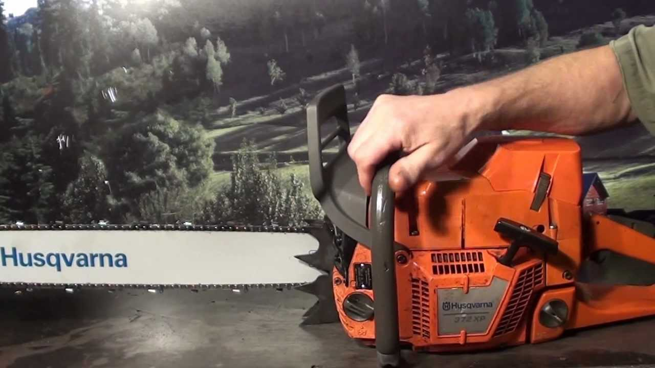 Muffler mod on my p3314 poulan chainsaw by Bill The Tractor Man