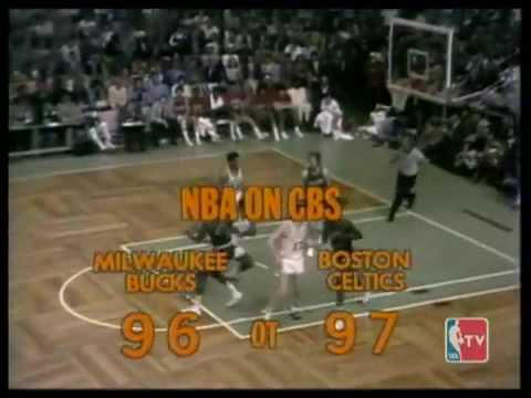 Bucks double OT win with Kareem hook 1974