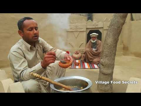 Paye Recipe | How to Make Trotters Curry | Grandma's Style | Village Style | Village Food Secrets