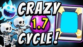 1.7 ELIXIR! CHEAPEST DECK DOMINATES! — Clash Royale