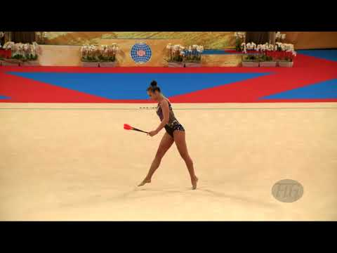 TASEVA Katrin (BUL) - 2018 Rhythmic Worlds, Sofia (BUL) - Qualifications Clubs