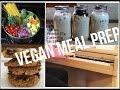 #HighProteinVegan Bodybuilding Meal Prep | Ep. 10 Operation Vegan & Fit
