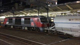 4月15日 夜の名古屋を通過する貨物列車 6本!!