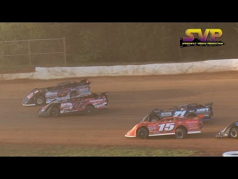 Late Model 30 Lap Feature / 411 Motor Speedway / April 9 , 2016