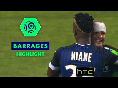 ESTAC Troyes - FC Lorient (2-1) - Highlights - (ESTAC - FCL) Barrages Ligue 1 (season 2016-17)