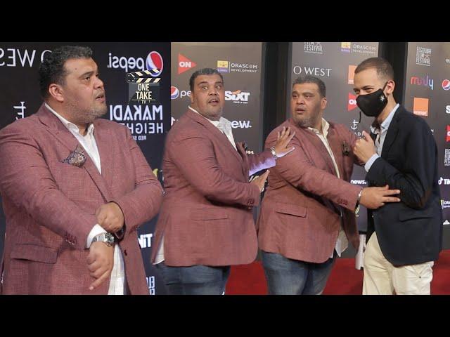 هتموت من الضحك على أحمد فتحي واللى عمله على الريد كاربت في مهرجان الجونة