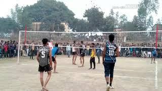 आजमगढ़ और Mim क्लब के बीच वॉलीबॉल का फाइनल मैच Mim Club Vs Azamgarh Final Volleyball Match