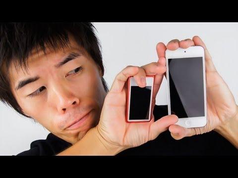 新型iPod touchとiPod nanoどっちがいいの?比較レビューしてみました