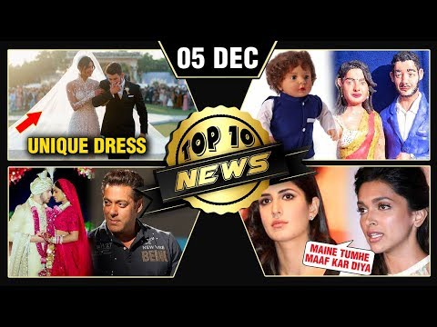 Salman IGNORES Priyanka Deepika Katrina Friends Priyanka Nick Honeymoon & More  Top 10 News