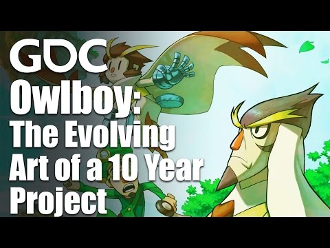 Owlboy: The Evolving Art of a 10 Year Project - YouTube