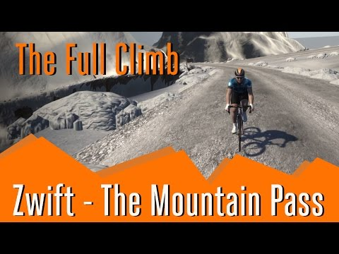 Zwift Mountain - Full Climb