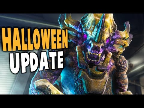 Natural Selection 2 - EPIC HALLOWEEN UPDATES! CANDY FOR ALL! - Gameplay