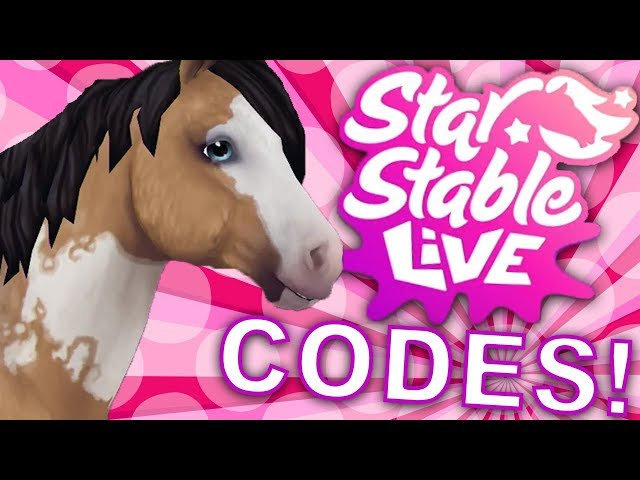 STAR STABLE CODES FROM LIVESTREAM! | Star Stable Online LIVE
